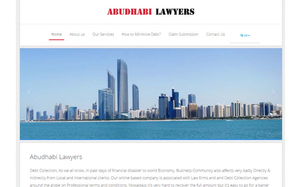 Proxymedia Website- Abudhabi Lawyers