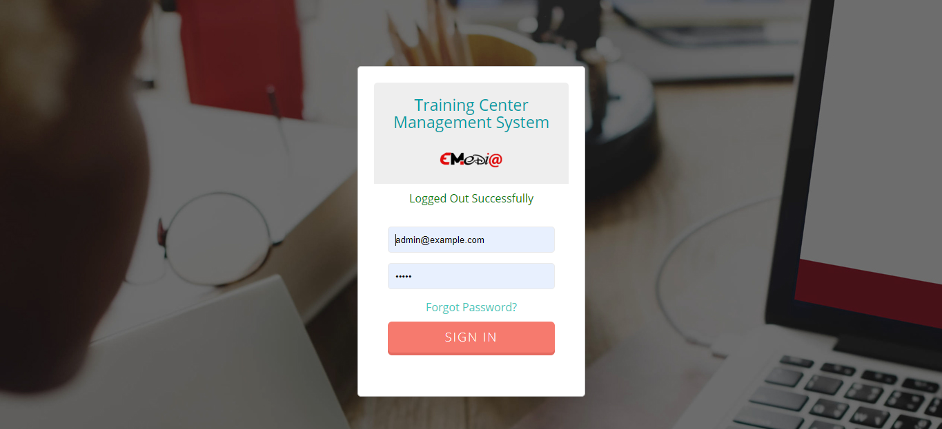 Training Institute Management System