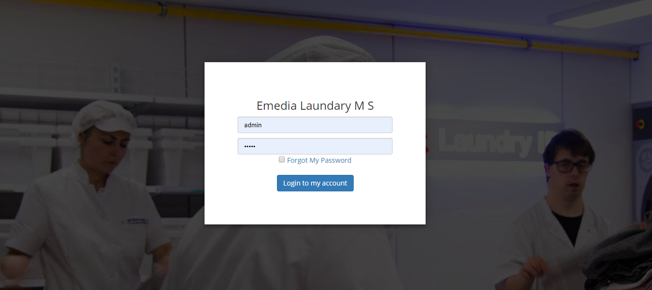 Online Laundary Management System