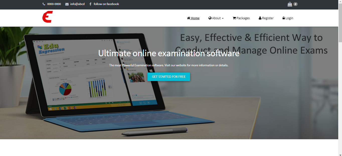 Online Exam Management System